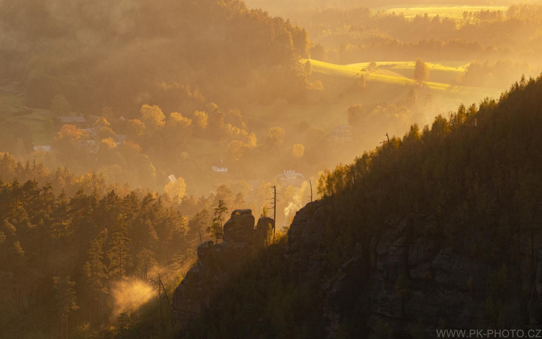 podzimní Jetřichovice