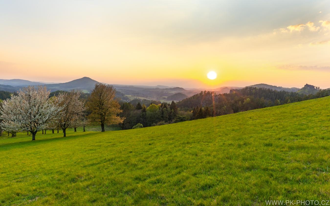 jaro v Českém Švýcarsku