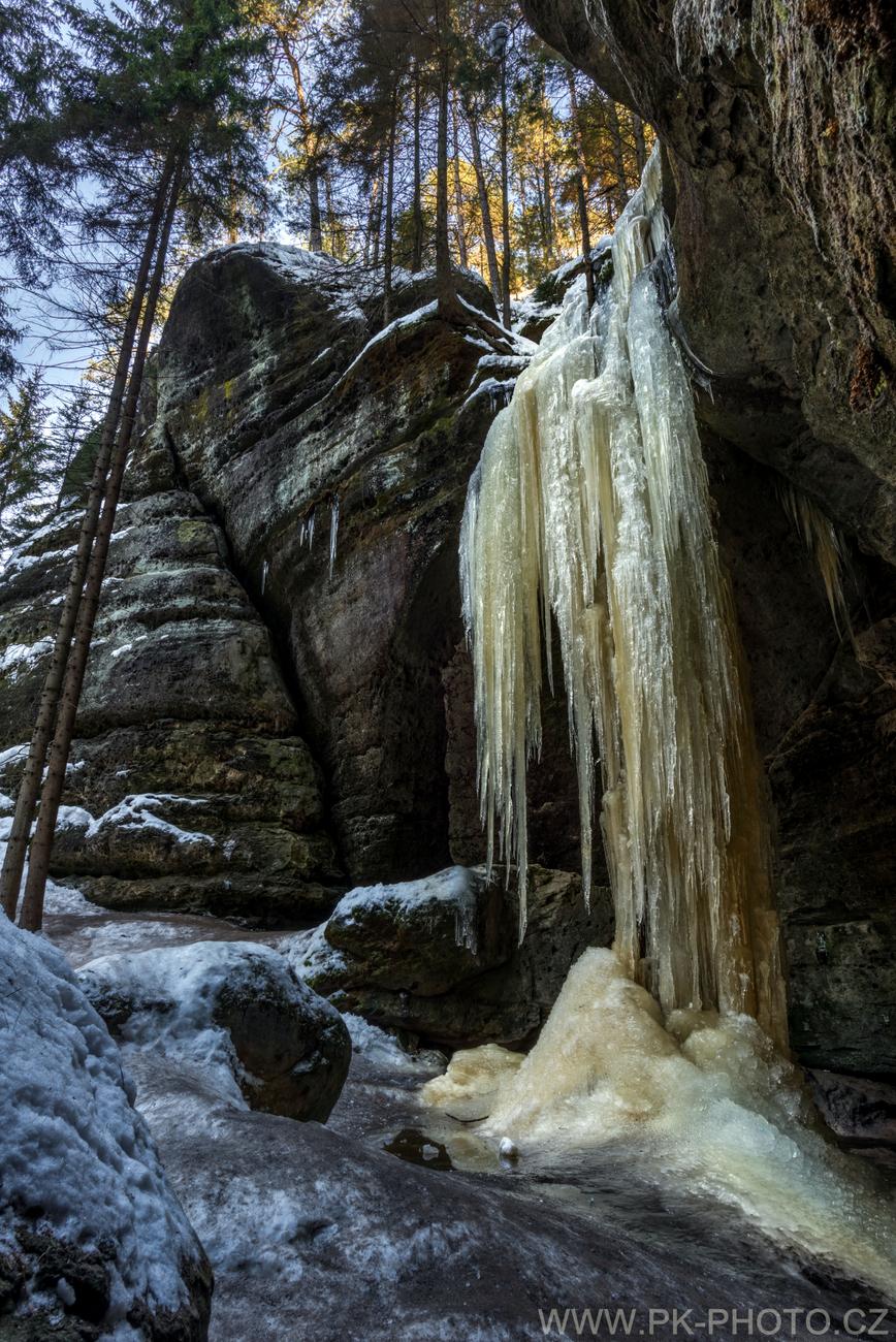 Velký ledový sloup