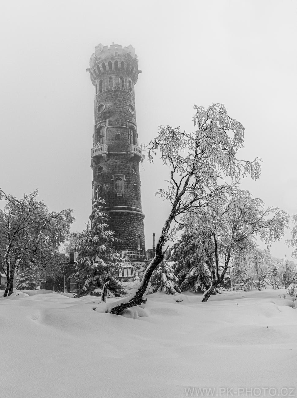 zima na Sněžníku
