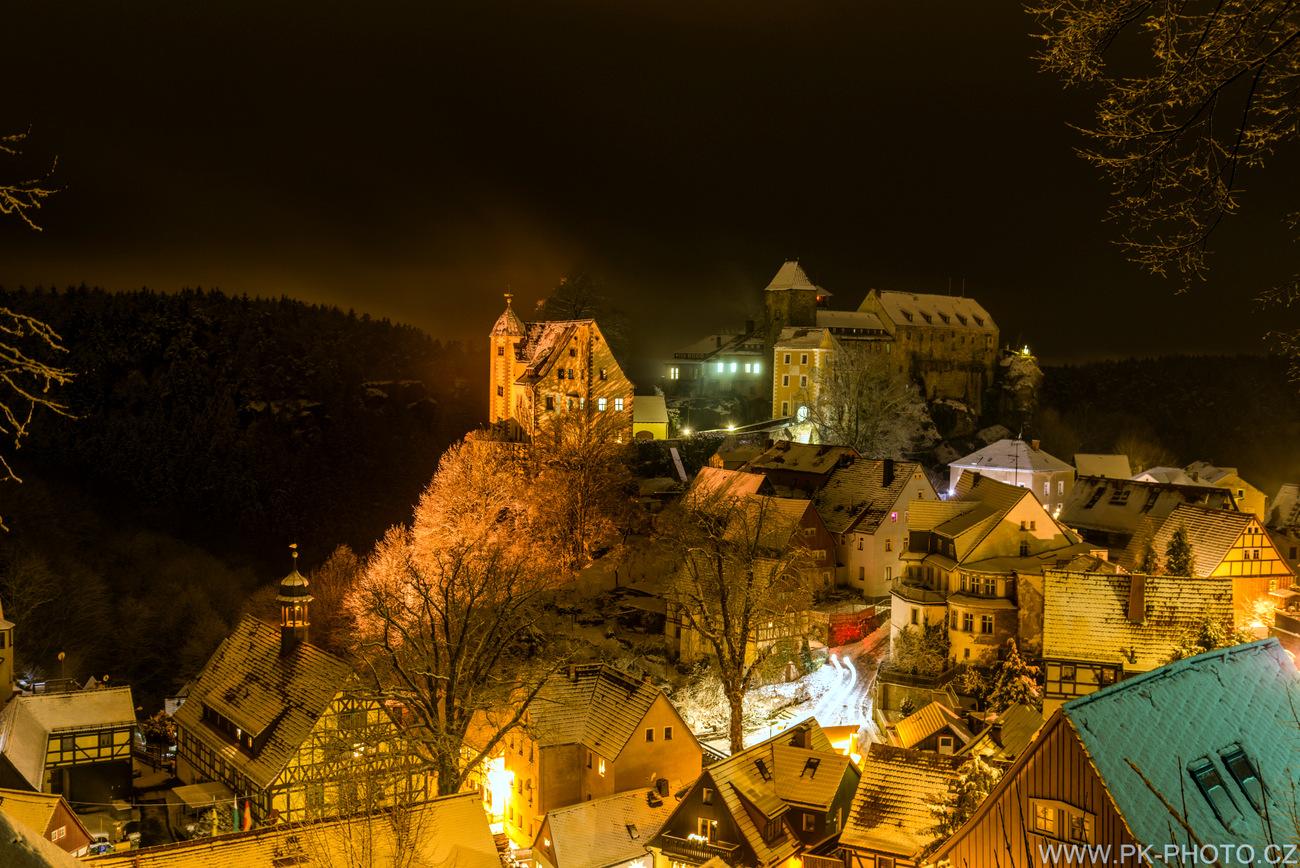 zimní Hohnstein